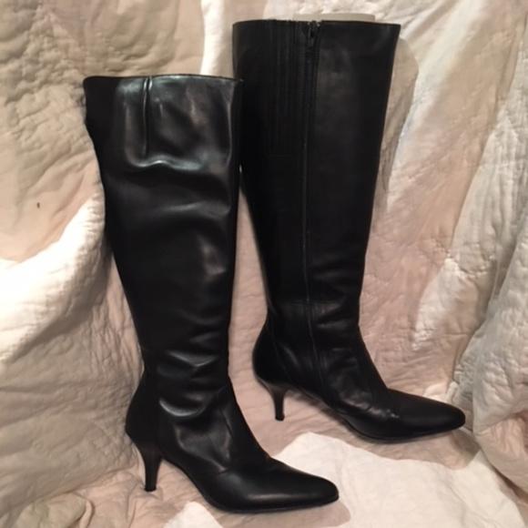 8a06306f619 J Crew Extended Calf Rivington Kitten-Heel Boots
